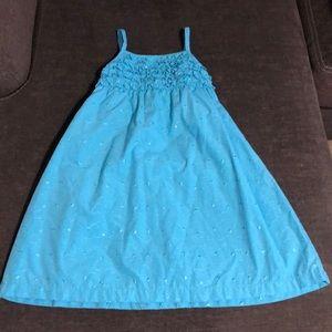 Penelope Mack girls size 6 blue dress